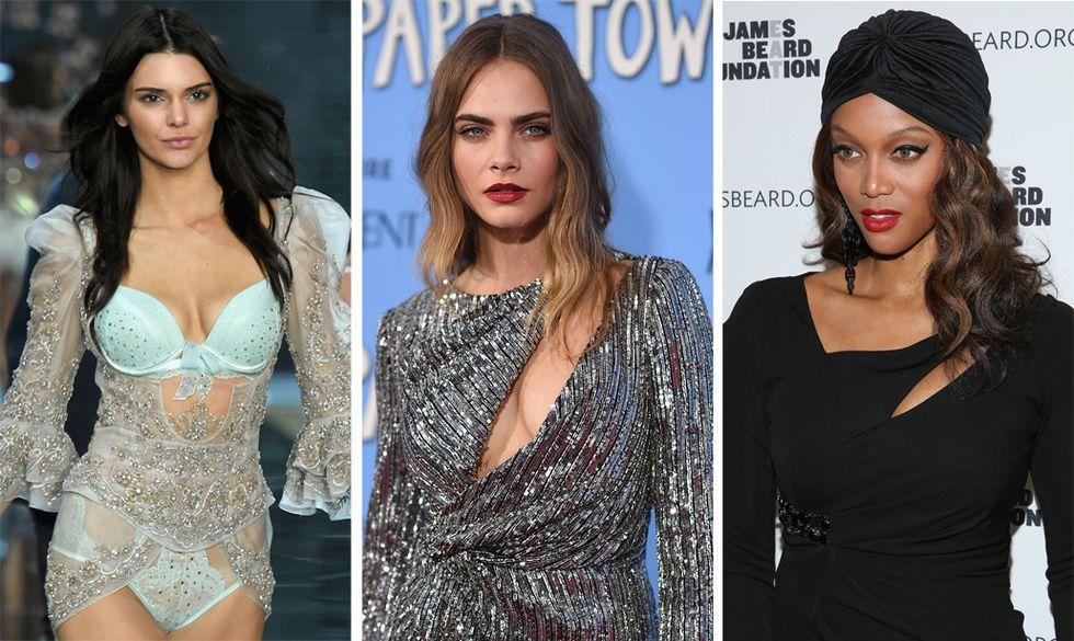 Le 10 modelle più social del 2015
