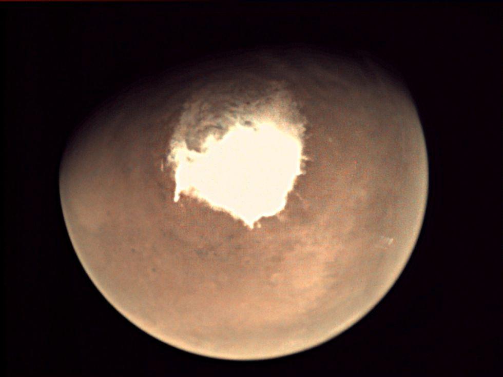 Marte: la sonda Schiaparelli distrutta nella caduta - FOTO