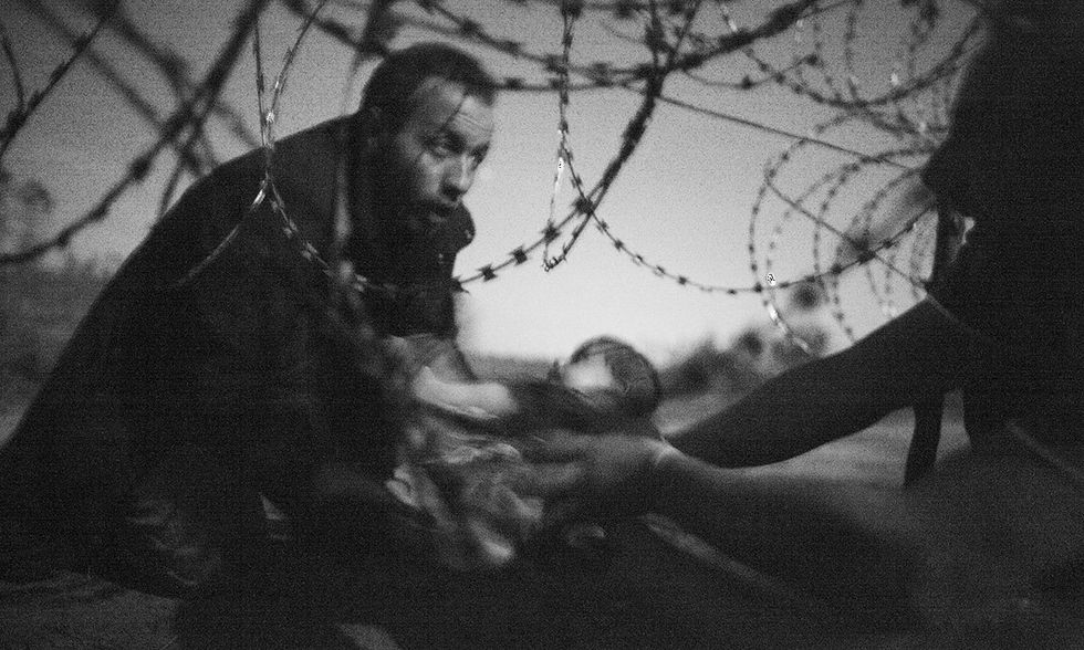 World Press Photo of the Year 2015, Warren Richardson