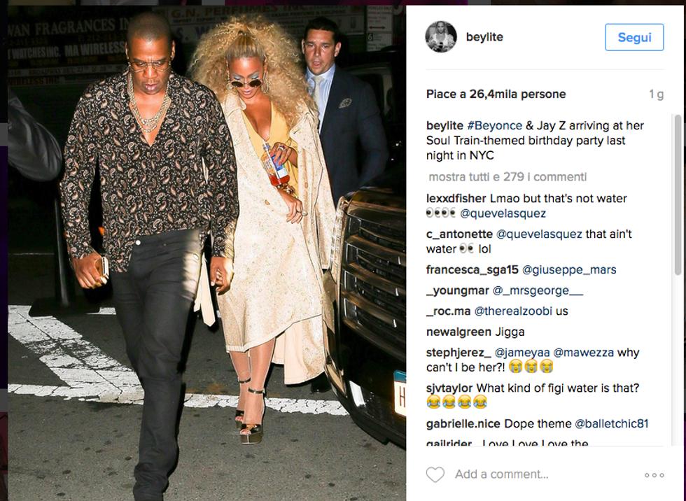 Beyoncé, party vintage in stile anni '70 per i suoi 35 anni