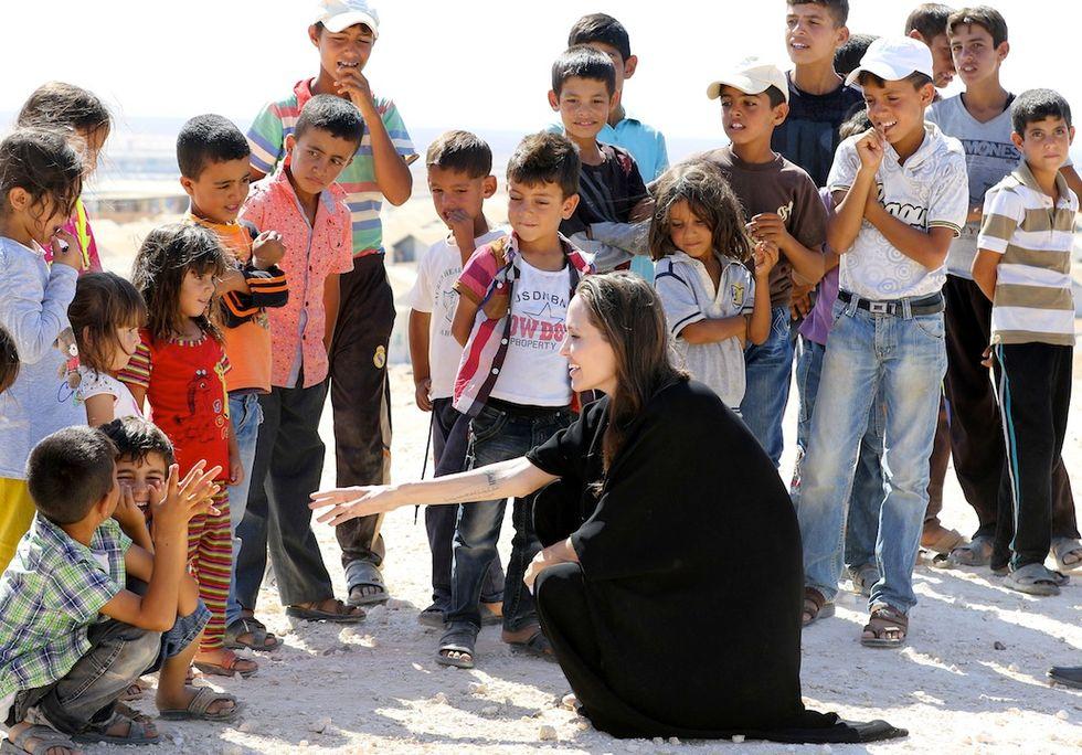 Angelina Jolie, in Siria come ambasciata Unhcr