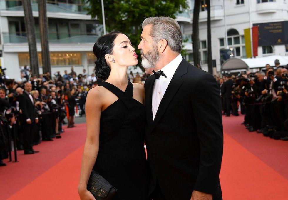 Mel Gibson e Rosalind Ross insieme a Cannes