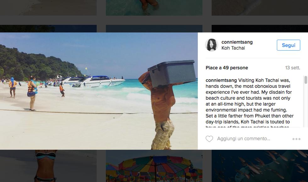 Koh Tachai chiude per i troppi turisti