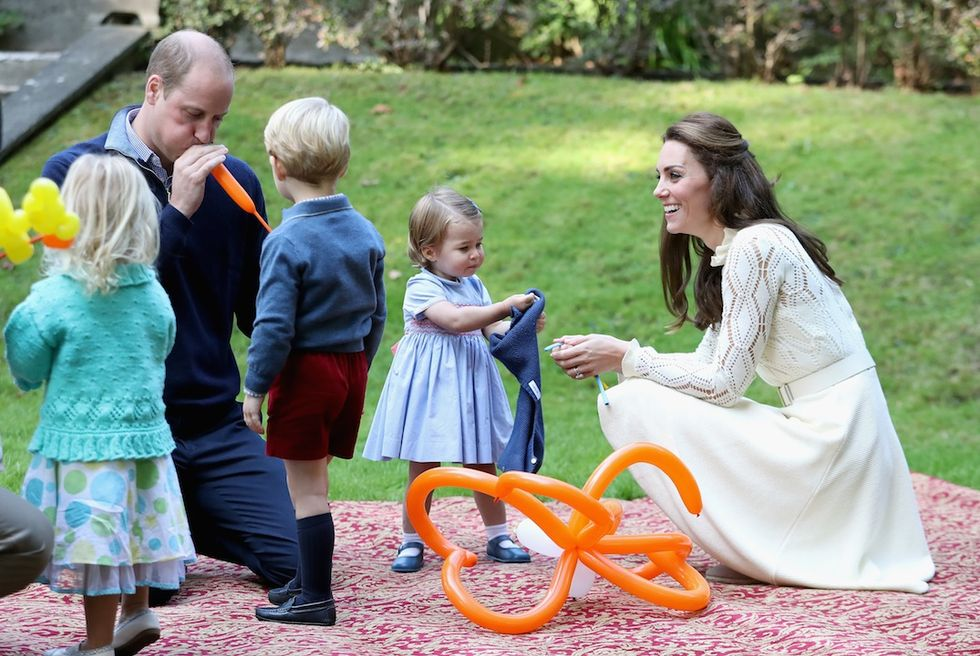 Primo party ufficiale per i royal baby in Canada