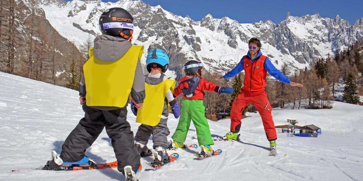 Vacanze sulla neve a misura di bambino