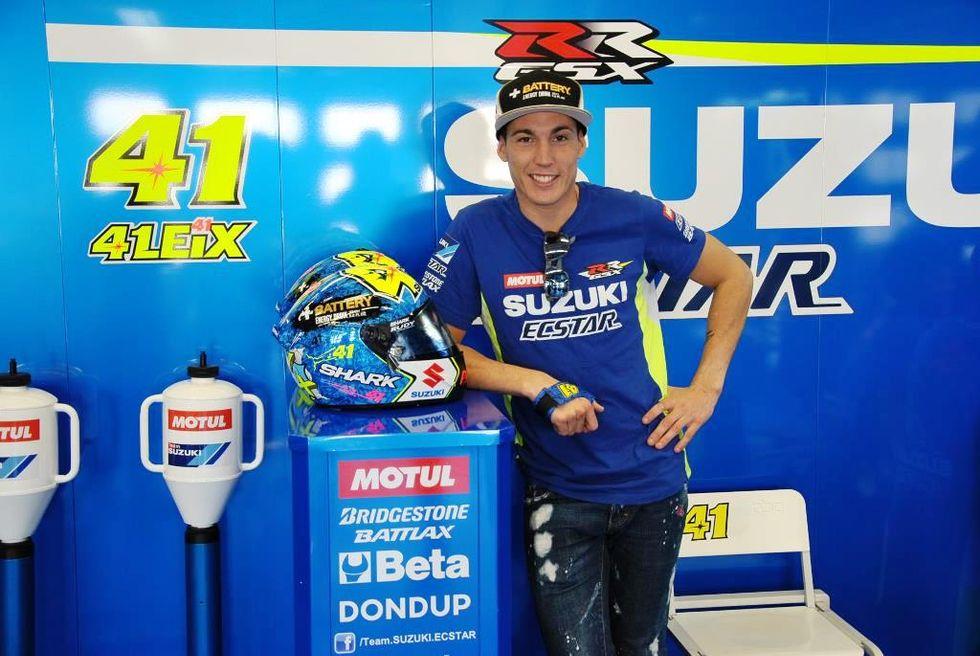 "Aleix Espargaró: ""La moto è come un libro, mi rilassa"""