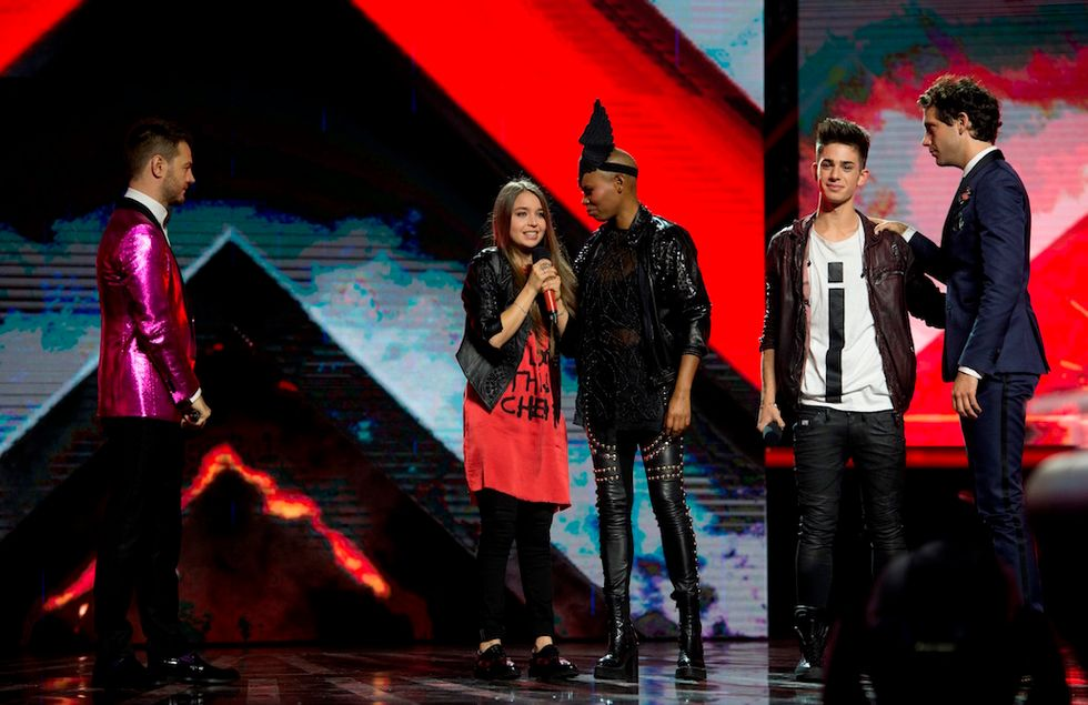 X Factor 9 Skin e Margherita