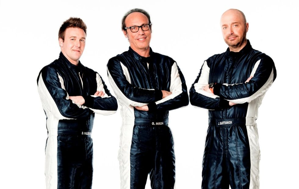 Top Gear Italia piloti