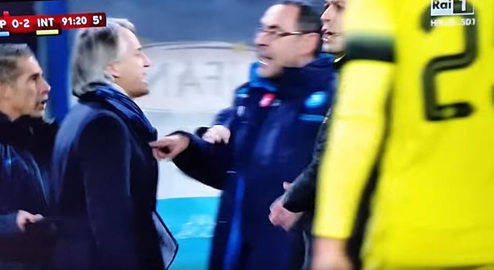 Sarri, Mancini e l'omofobia nel calcio: tutti i precedenti