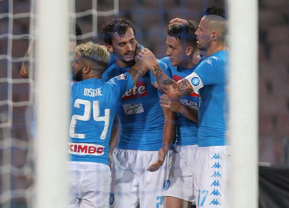 Serie A, Napoli-Chievo giornata 6