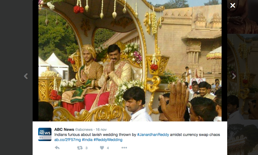 Il matrimonio indiano da 68 milioni di dollari