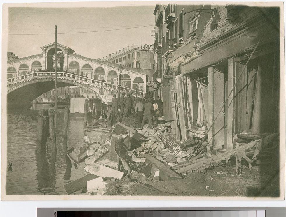 Grande Guerra: i bombardamenti di Venezia - La storia e le foto