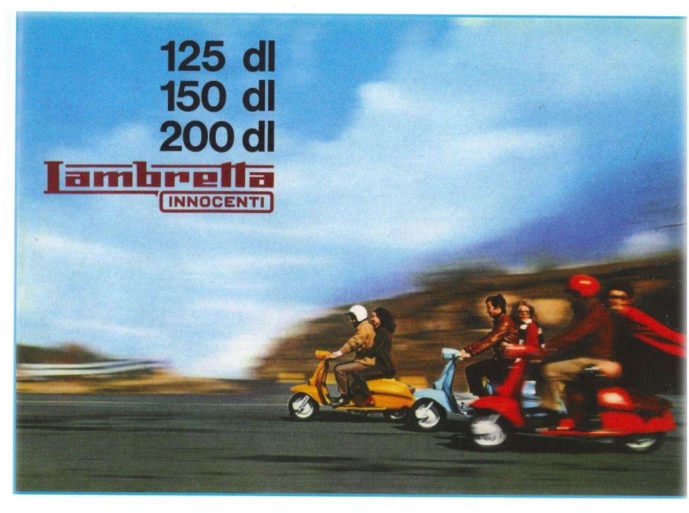 Innocenti: 50 anni fa l'ultima Lambretta (1969-71)