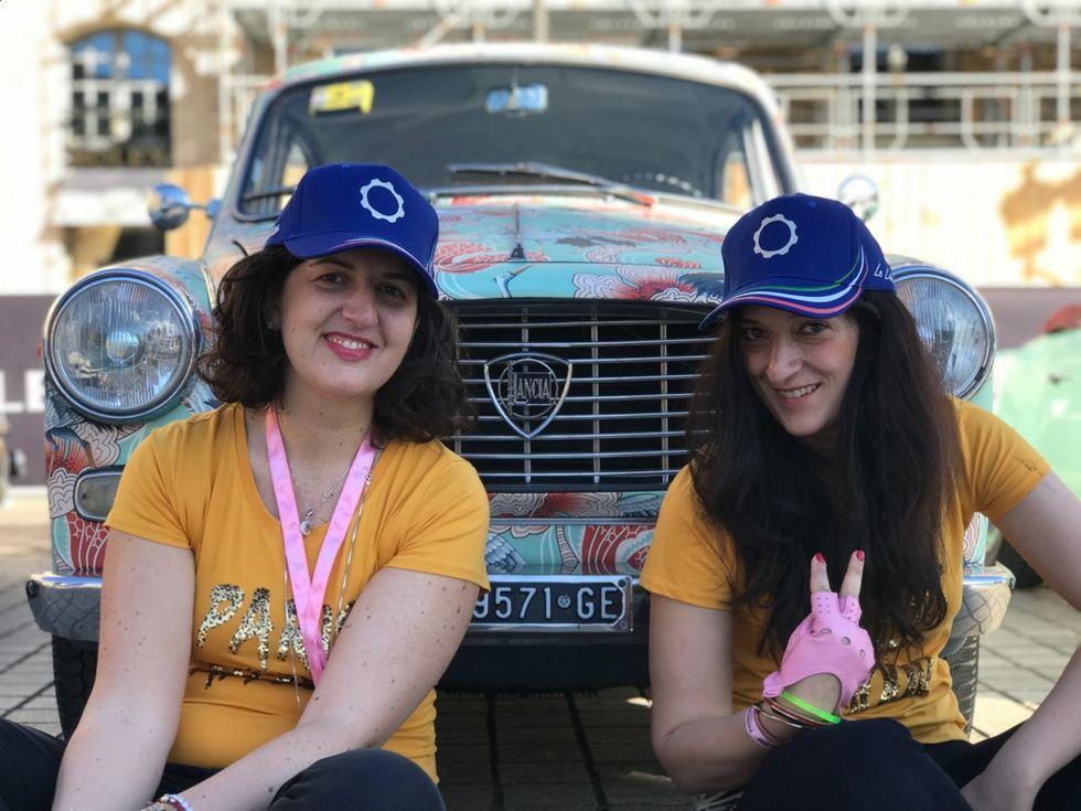 Due Italiane e una Lancia Appia: un rally tutto in rosa