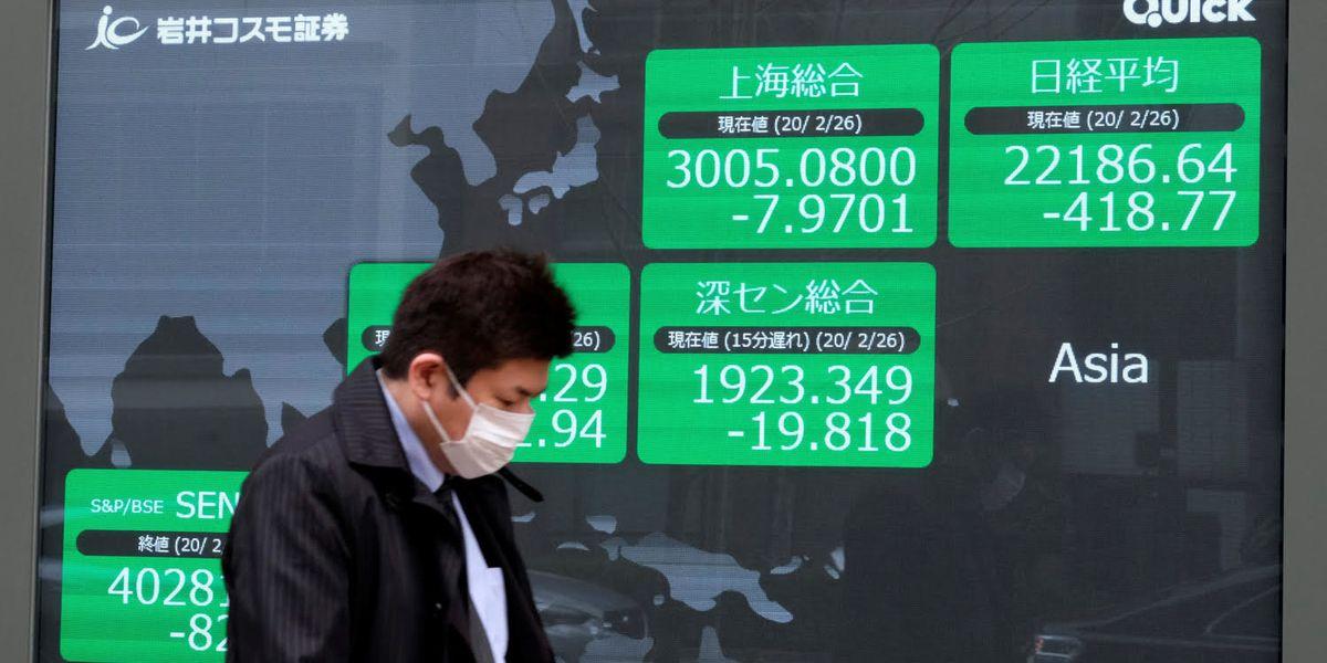Il contagio della paura atterra l'economia