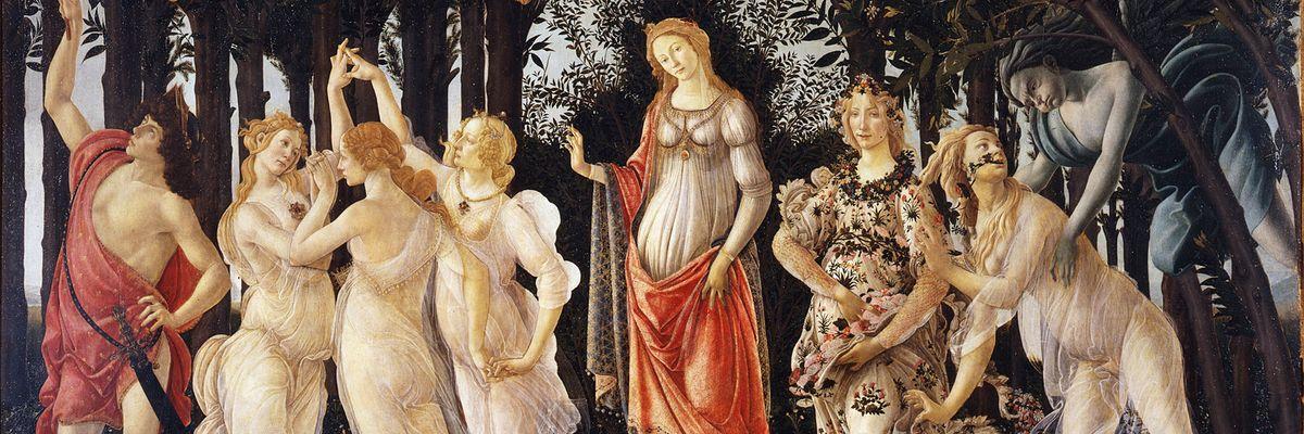 In quarantena, godiamoci la primavera (di Botticelli)