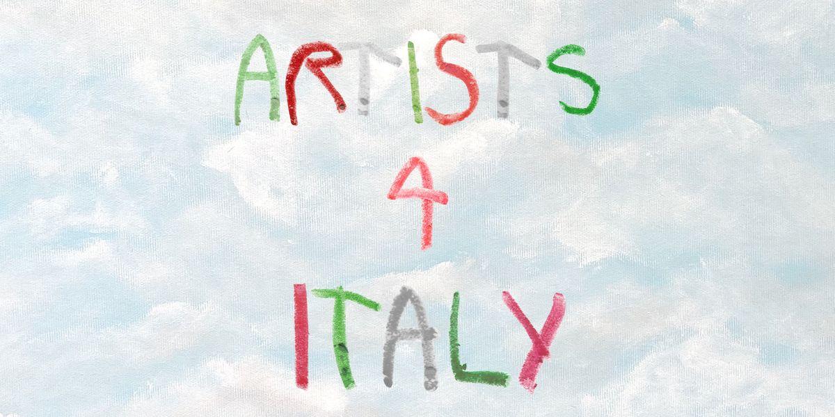 Arte e creatività in pista per sostenere il sistema sanitario italiano contro il coronavirus