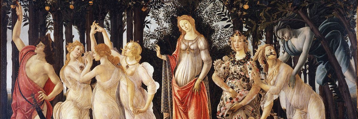 Stuck at Home, Let's Enjoy the Spring (by Botticelli)