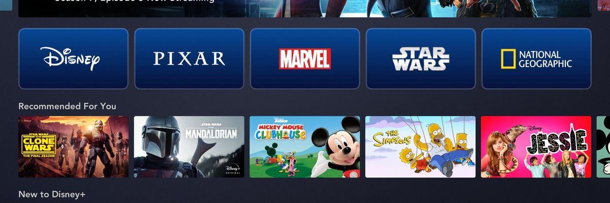 Disney+: la prova in anteprima della nuova piattaforma TV