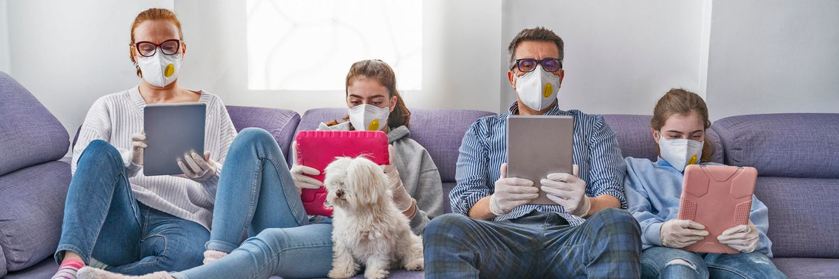 I rischi familiari e sociali dell'isolamento in casa