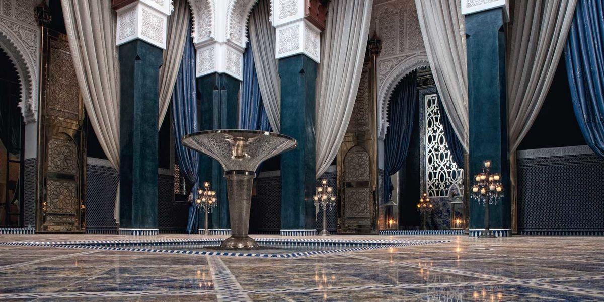 Gli alberghi di lusso a Marrakech