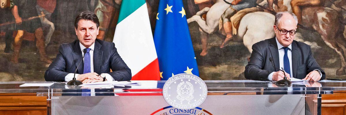 L'Italia stanzia il 2,8% del pil per Coronavirus