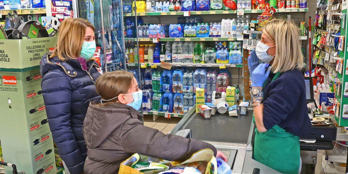 Il Coronavirus cambia il carrello della spesa degli italiani