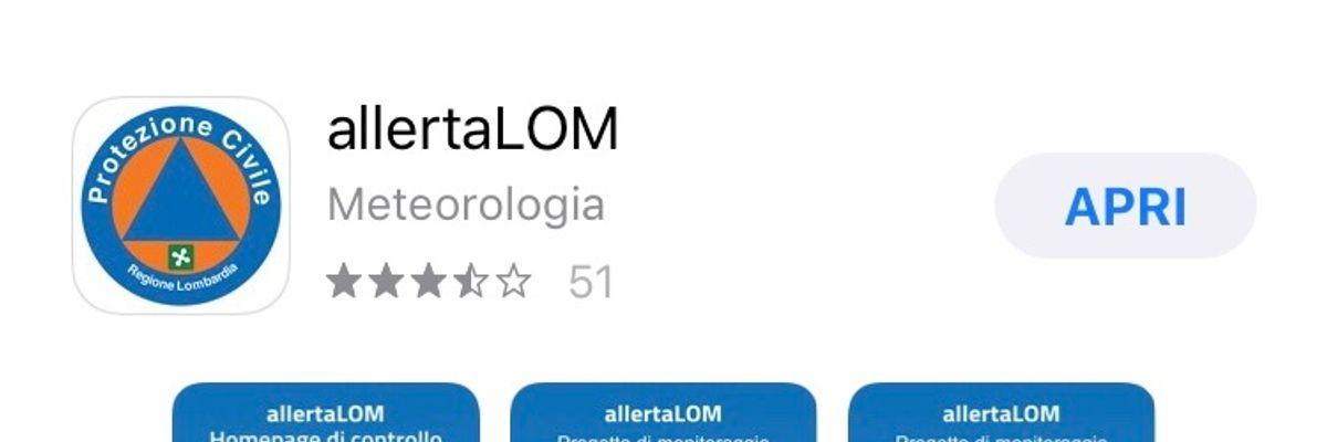 Coronavirus, AllertaLOM è l'app per mappare i contagi in Lombardia