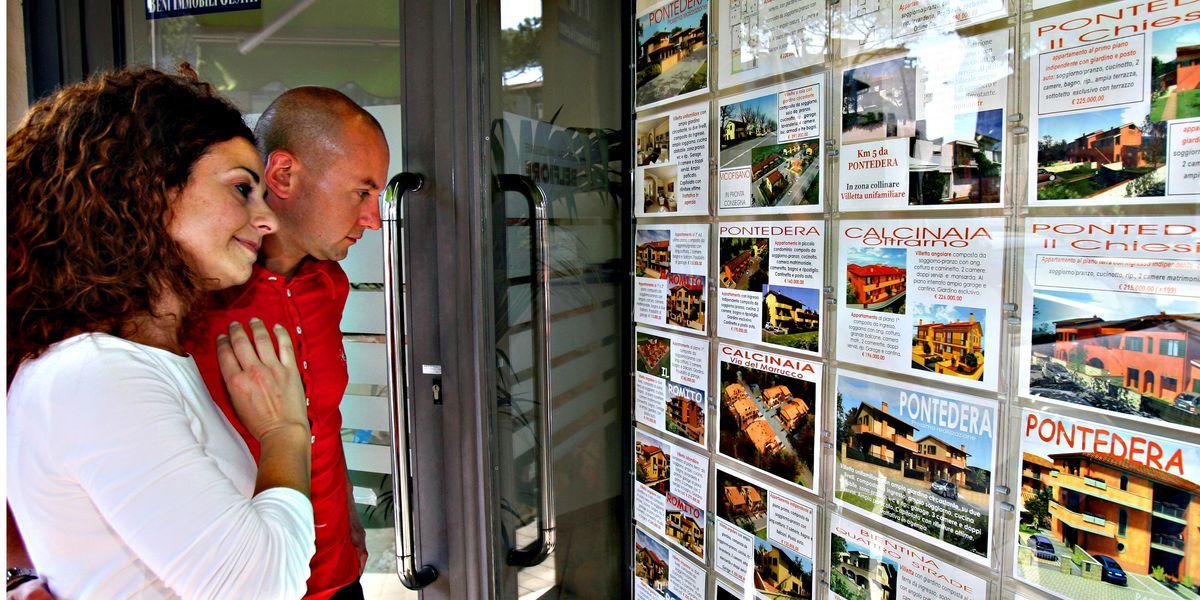 Mercato immobiliare: giù le vendite, ma anche i mutui