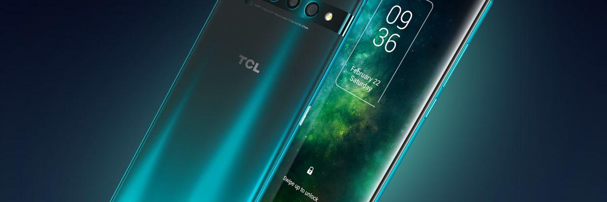TCL lancia lo smartphone 5G più conveniente e mostra i pieghevoli del futuro