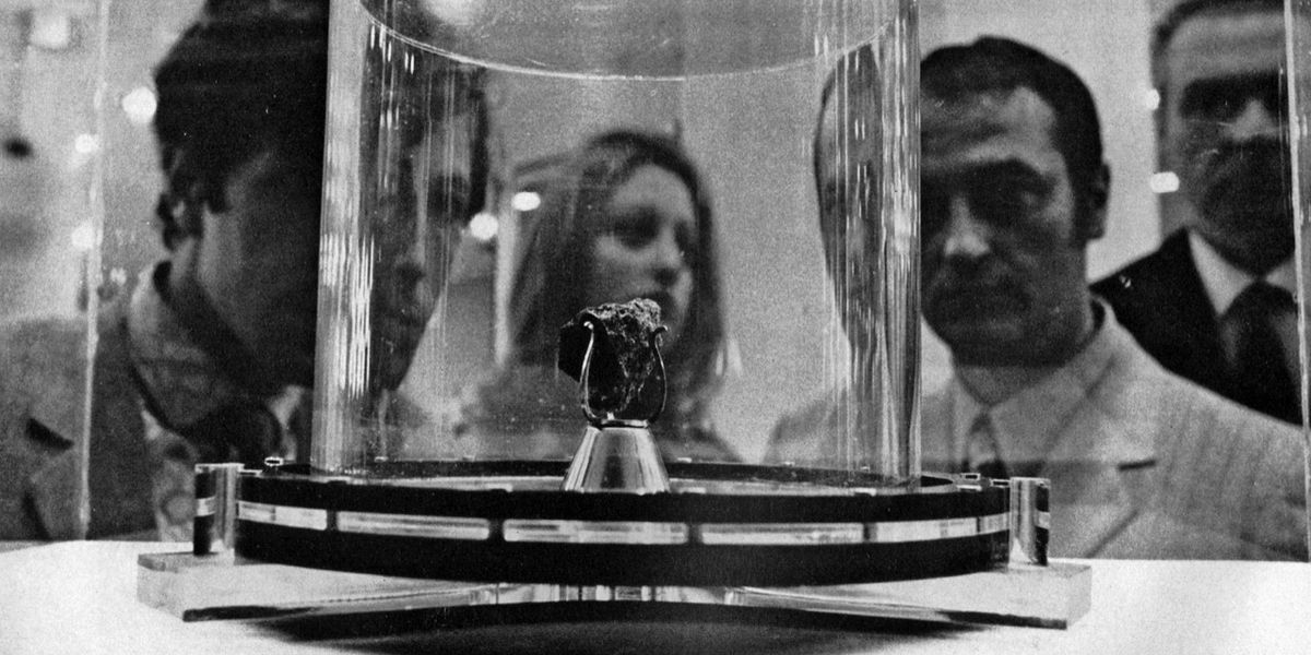 Milano: cinquant'anni fa la Fiera Campionaria che mostrò la Luna