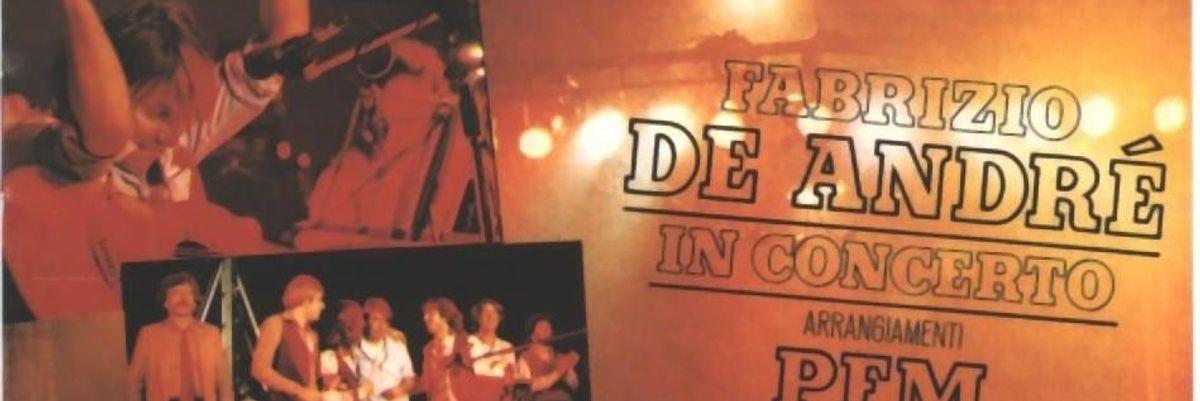 L'album del giorno, Fabrizio De Andrè & Pfm in concerto
