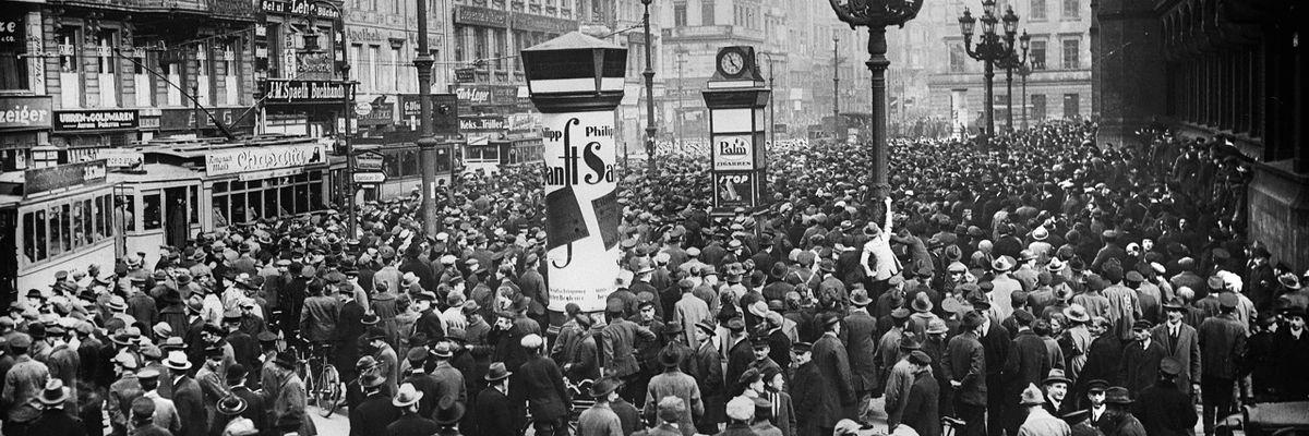 Weimar: quelle inquietanti similitudini con la situazione odierna
