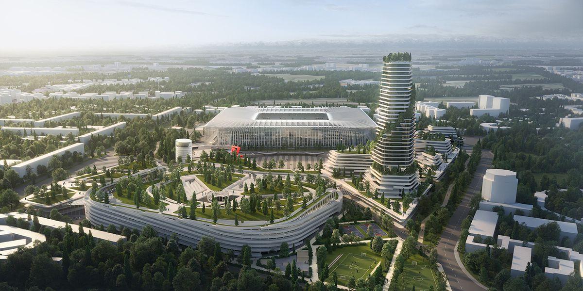 san siro nuovo stadio inter milan progetto immagine