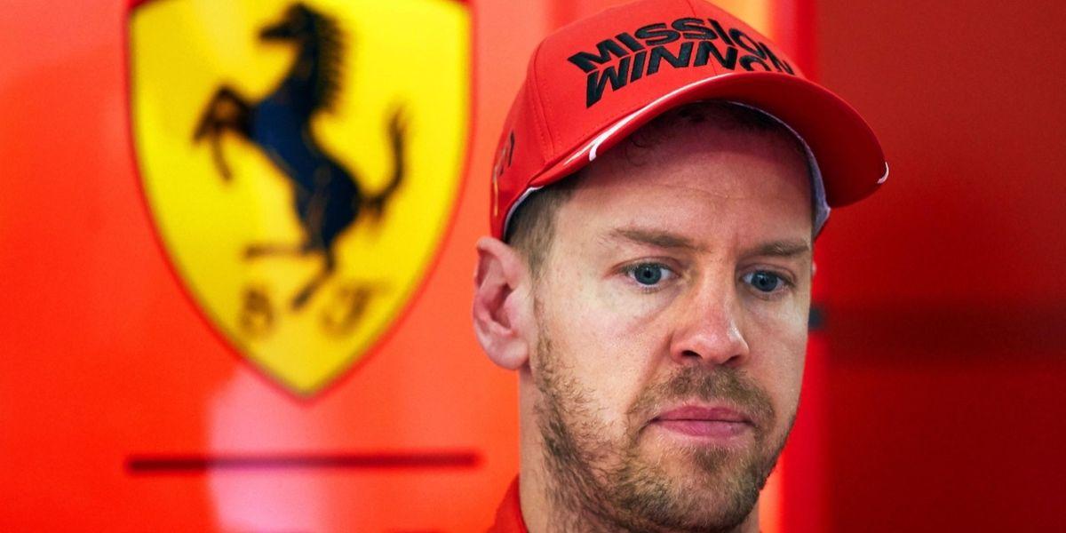 Sebastian Vettel lascia la Ferrari