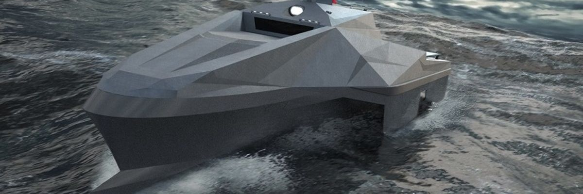 Navi militari, il futuro sono i pentamarani senza equipaggio