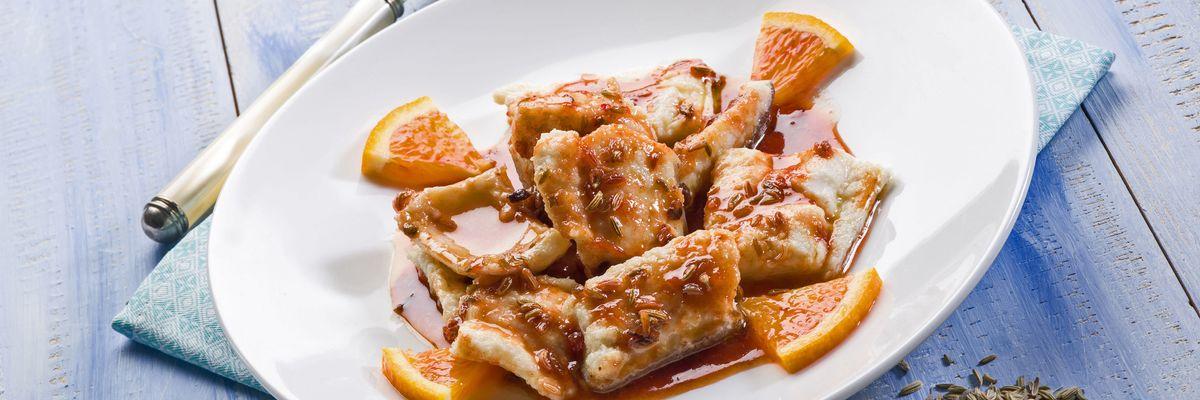 Cuciniamo insieme: Merluzzo con arancia e finocchio