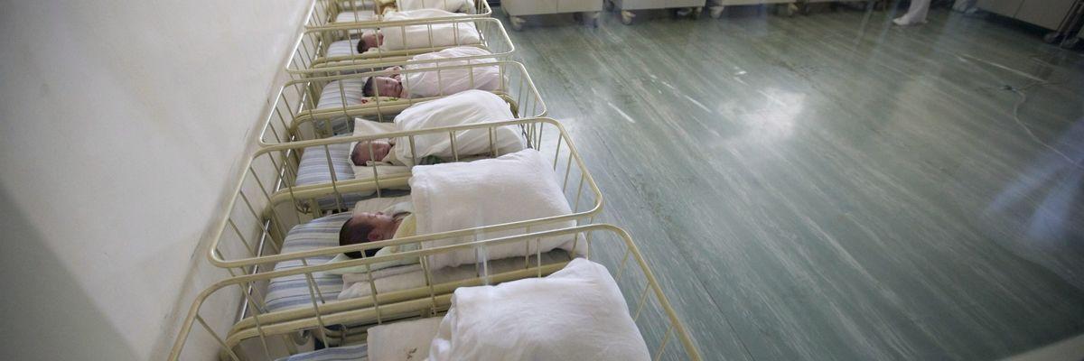 Il record di nascite dell'Ospedale (privato) di Roma