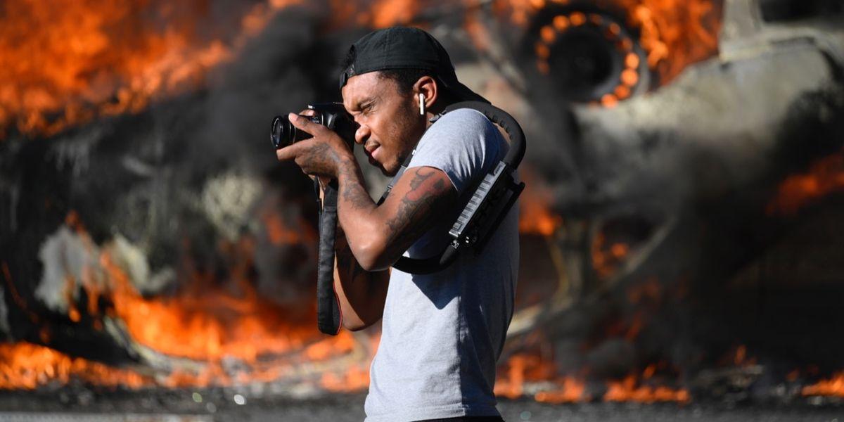Scontri negli Usa: le 10 foto più drammatiche