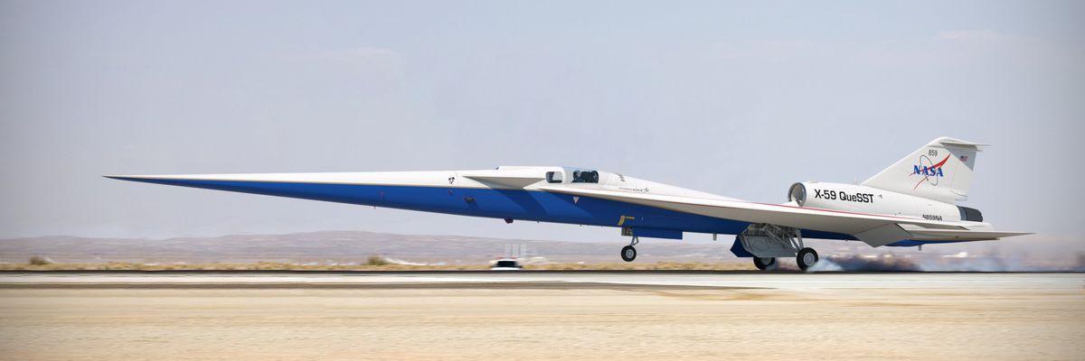 Tornano gli aerei supersonici, ma soltanto se saranno silenziosi