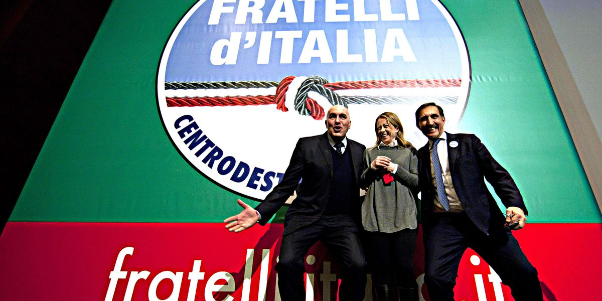 La lunga marcia della leader di Fratelli d'Italia