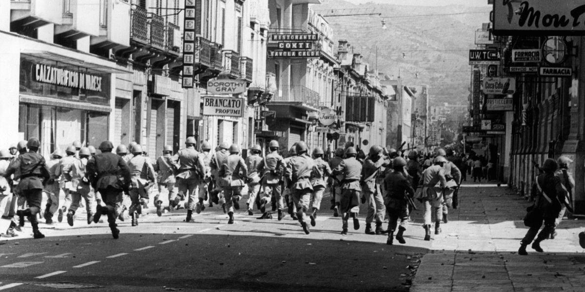 Luglio 1970: cinquant'anni fa la rivolta di Reggio Calabria (storia e foto)