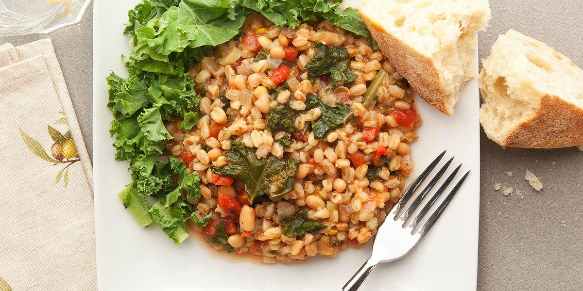 Cuciniamo insieme: Timballo di farro ricotta e ortiche con salsa al Parmigiano