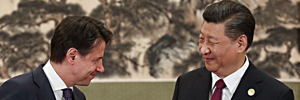 Il Conte Bis arriva al bivio tra Usa e Cina