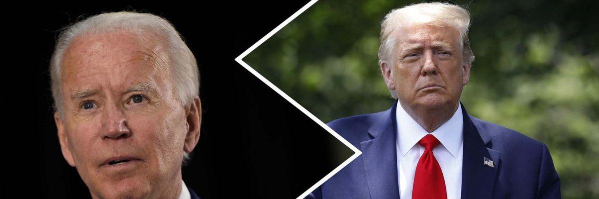 Trump vs Biden: le opposte strategie nella sfida  ai tempi  del Covid