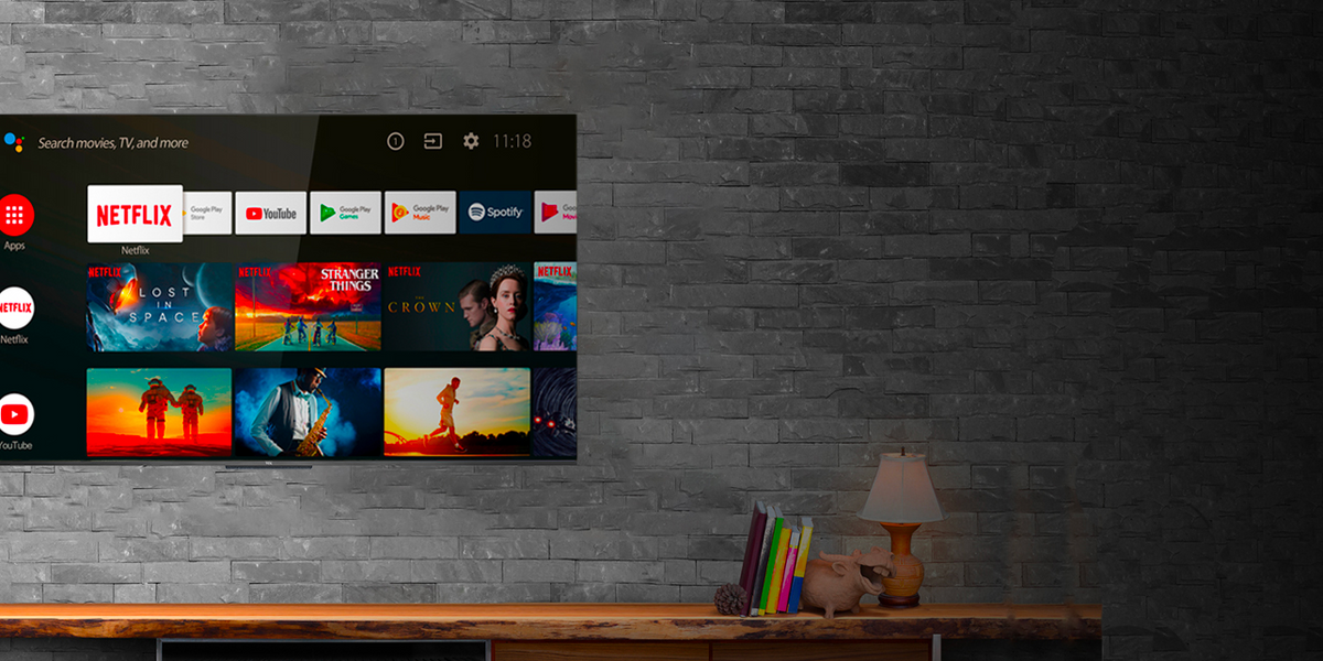 Tcl C71, 55 pollici per l'Android tv conveniente
