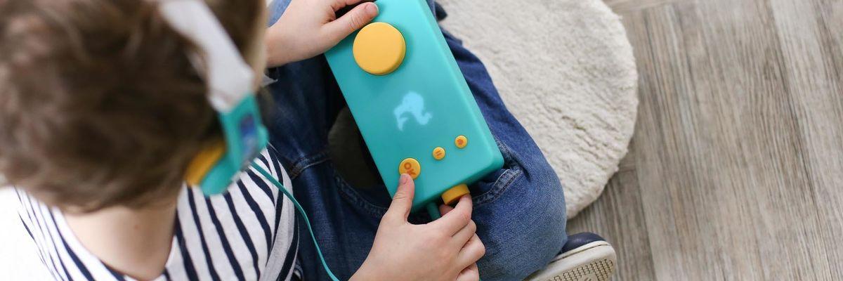 Lunii: arriva il dispositivo che salva i bambini dall'abuso da schermo