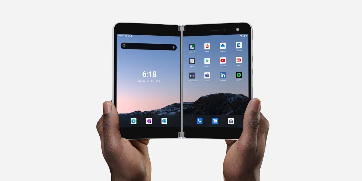 """Surface Duo, tutto sul nuovo dispositivo """"ibrido"""""""