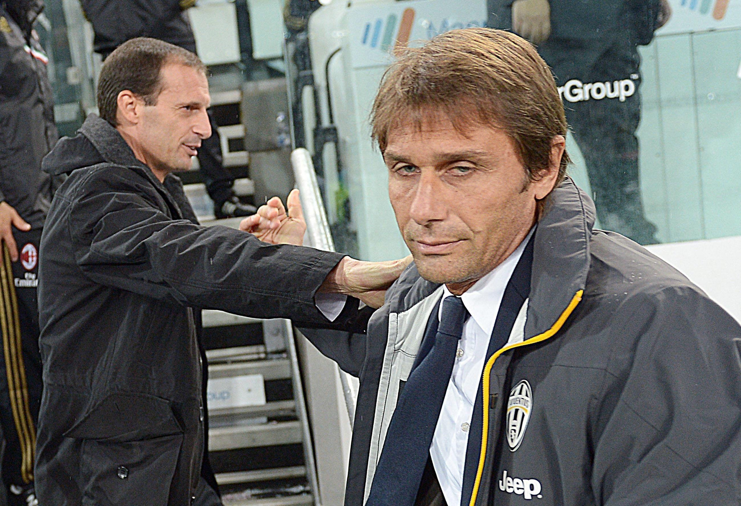 Inter: Conte e Allegri, una panchina per due