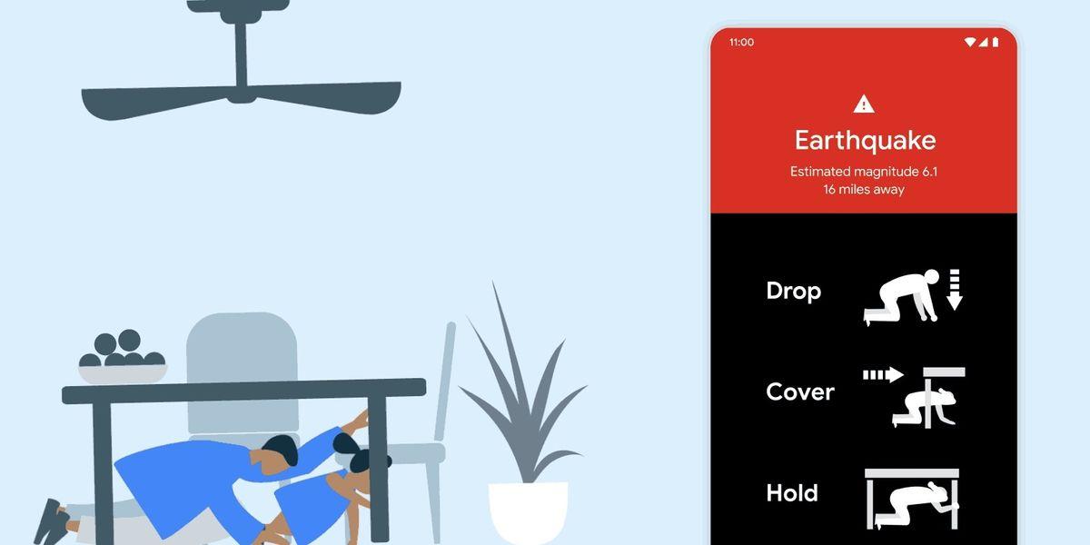 Google ci avvisa via smartphone quando arriva un terremoto